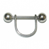 Plain Nipple Stirrup Shield & Bar