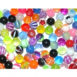 Pack Of Six UV Spare Balls For 1.6mm Body Bars