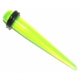 Green UV Ear Stretching Taper