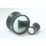 Mirror Inlay Stretched Ear Plug 4mm - 22mm
