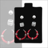 Dice Ear Ring Value Pack