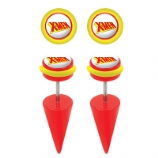 X-Men Logo Licensed Official Taper Fake Plugs (Pair)