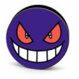 Gengar Pokemon Plug 6mm - 25mm