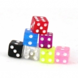 Dice Novelty Tongue Bar Value Pack - One Of Each Colour