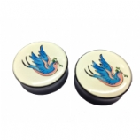 Tattoo Swallow Saddle Plug