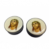 Tattoo Jesus Saddle Plug
