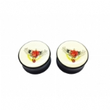Tattoo Winged Heart Lock Skull Saddle Plug