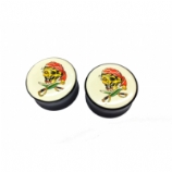 Tattoo Pirate Skull Saddle Plug