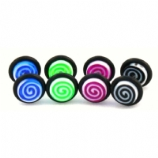 Candy Swirl UV Fake Plug