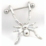 Spider Dangle Nipple Shield and Bar