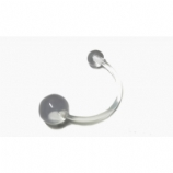 Clear Retainer Pregnancy Belly Piercing Bar