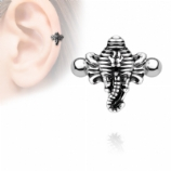 Elephant Cuff Shield Helix / Ear Cartilage Bar
