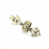 Golden Arrows Clip On Fake Helix Ear Cuff