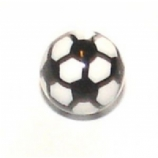 Football Design Ball For 1.6mm Body Bars