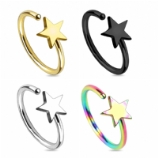Star Surgical Steel Seamless Nose Ring