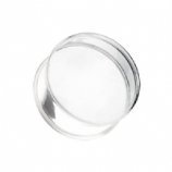Clear Flared Acrylic Ear Plug 3mm - 50mm