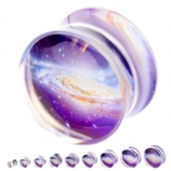 Swirling Galaxy Plug