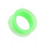 Green Silicone Flexible Flesh Tunnel