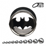 Batman Official Licensed Plugs 6mm - 25mm (Pair)