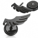 Funky Black Wing Fake Plug