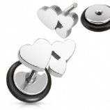 Funky Heart Shape Fake Plug