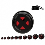 X-Men Official Licensed Plugs 6mm - 25mm (Pair)