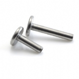QMM Stem - Titanium Micro Labret Back - 1.2mm