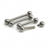 Plain Internally Threaded Titanium Straight Barbell - 1.2mm