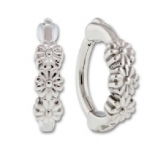 Triple Flower Hinged Rook Clicker Ring Bar