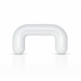 Clear Acrylic Septum Staple Shape Retainer