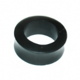 Black Organic Wood Flesh Tunnel 3mm - 50mm