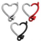 Devil Heart Daith / Cartilage Ring