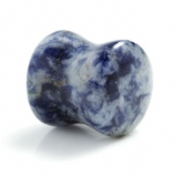 Sodalite Stone Double Flared Plug