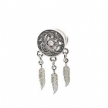 Steel Dreamcatcher Dangle Style Plug 10mm - 24mm