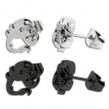 Surgical Steel Scorpion Ear Stud Earring - Single