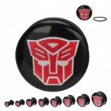 Autobots Transformers Official Licensed Plugs 6mm - 25mm (Pair)
