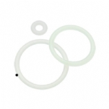 4 Spare Glow In The Dark O-Rings For Plugs, Tunnels etc