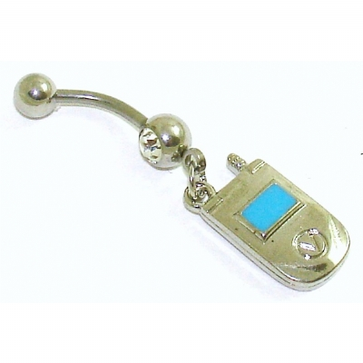 Mobile Phone Dangle Belly Bar