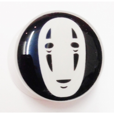 No Face Spirited Away Plug 6mm - 25mm