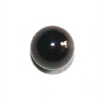 Black Titanium Plain Ball For 1.6mm Body Bars