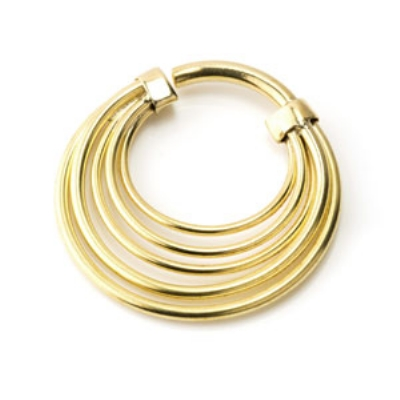 Brass Banded Ear Weight - 3mm