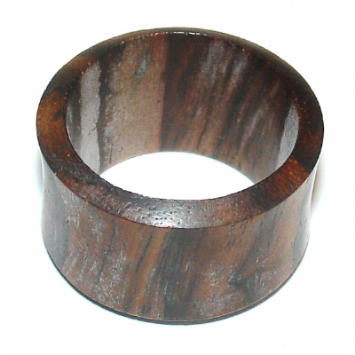 Brown Sono Wood Organic Flesh Tunnel 3mm - 30mm