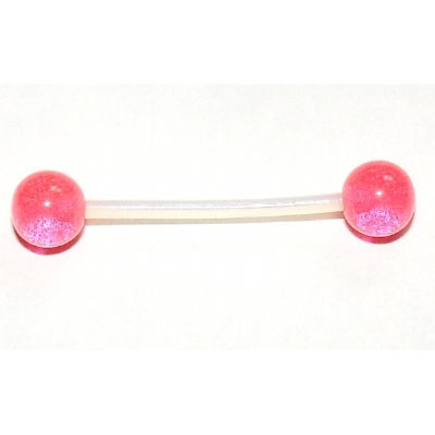 Acrylic UV Balls PTFE Flexible Nipple Bar