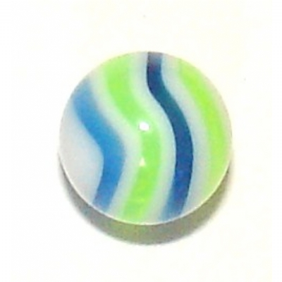 Two-Tone Marbled UV Ball For 1.6mm Body Bars