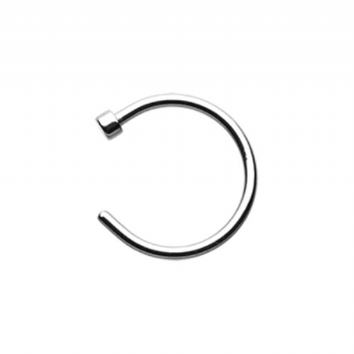 Surgical Steel Open Nose Ring Hoop