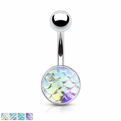 Unique Mermaid Scale Belly Bar
