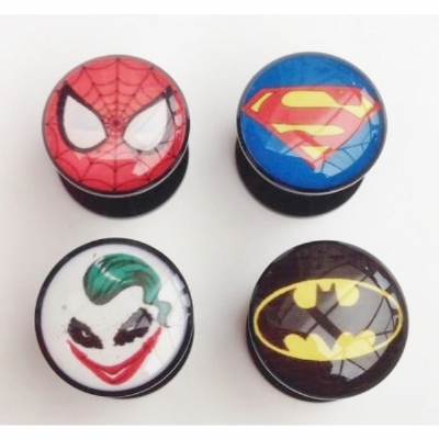 Superhero Plug 6mm - 25mm
