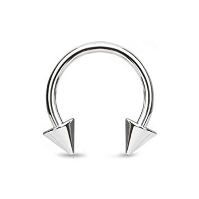 Horseshoe Circular Barbell - 1.6mm - Spike