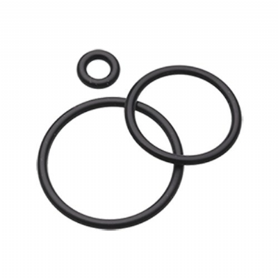 4 Spare Black O-Rings For Plugs, Tunnels etc